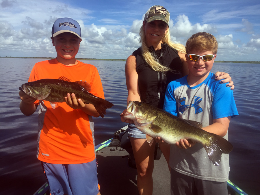 July 1 2017 lake okeechobee bass fishing report just4bass for Lake fishing report