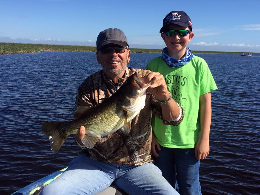 December 28 2017 lake okeechobee bass fishing report for Lake okeechobee bass fishing