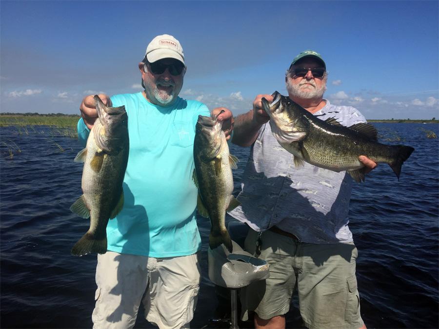 February 10 2018 lake okeechobee bass fishing report for Lake okeechobee bass fishing